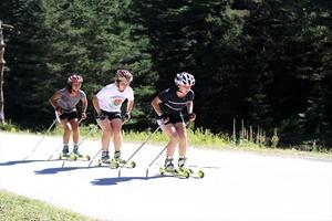Kayaklı Koşu Milli Takımı olimpiyata hazırlanıyor