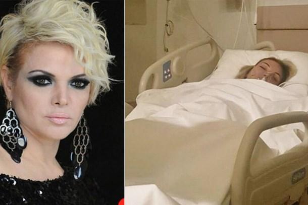Ünlü şarkıcıdan kötü haber! Hastaneye kaldırıldı!