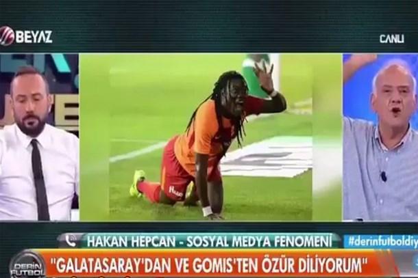 Canlı yayında ortalık karıştı! Ahmet Çakar'dan Hakan Hepcan'a ağır sözler: Şerefsiz oğlu şerefsizsin!