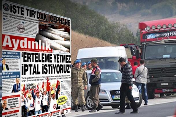 MİT TIR'larına yeni iddianame: Aydınlık yöneticilerine 10 yıl hapis istemi!