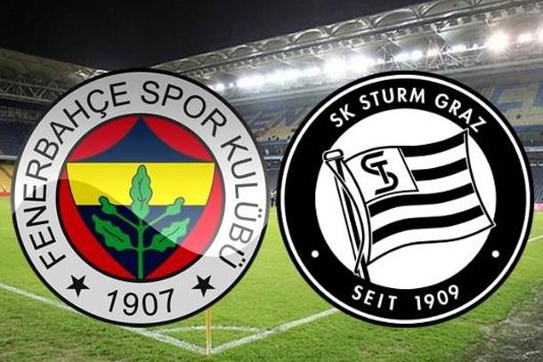 Fenerbahçe - Sturm Graz maçı saat kaçta, hangi kanalda?