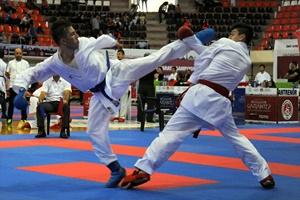 Gaziantep'teki karate şampiyonası sürüyor