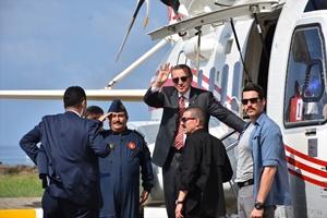 Cumhurbaşkanı ve AK Parti Genel Başkanı Erdoğan Trabzon'da