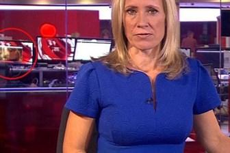 BBC canlı yayınında 'çıplaklık' şoku