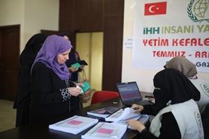 İHH'dan Gazze'deki yardım faaliyetleri