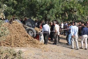 Manisa'da traktör kazası: 2 ölü
