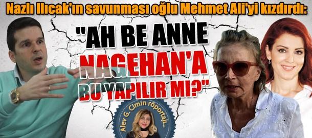 Nazlı Ilıcak'ın savunması oğlu Mehmet Ali'yi kızdırdı: