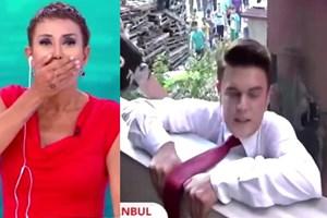 Serap Ezgü'nün programında skandal görüntü!
