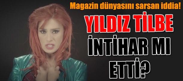 FLAŞ! FLAŞ! FLAŞ! Ünlü sanatçı Yıldız Tilbe intihar etti!