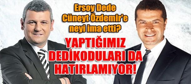 Ersoy Dede Cüneyt Özdemir'e neyi ima etti? Yaptığımız dedikoduları da hatırlamıyor!