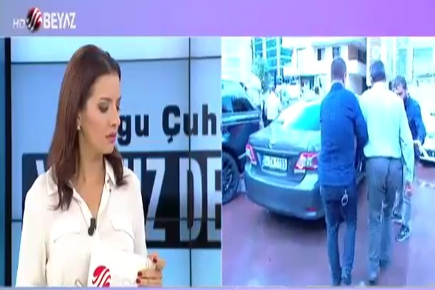 Tacizci baba canlı yayında gözaltına alındı!