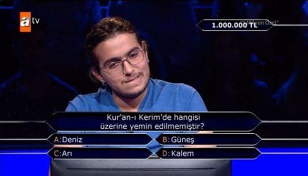 İşte Milyoner'de 1 milyonluk soru!