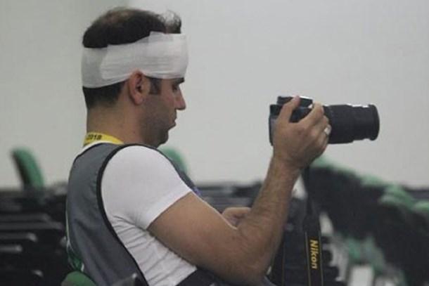 Bursaspor-Galatasaray maçında 4 gazeteci yaralandı!
