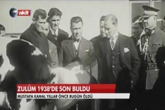 Bir Akit riyası! Atatürk'ü yere göğe sığdıramadı!