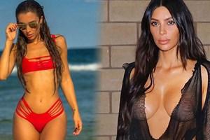 Kim Kardashian'a rakip olarak gösterilen manken, Türk çıktı!