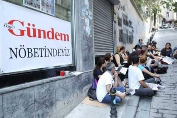 Özgür Gündem davasında 5 gazeteciye hapis cezası!