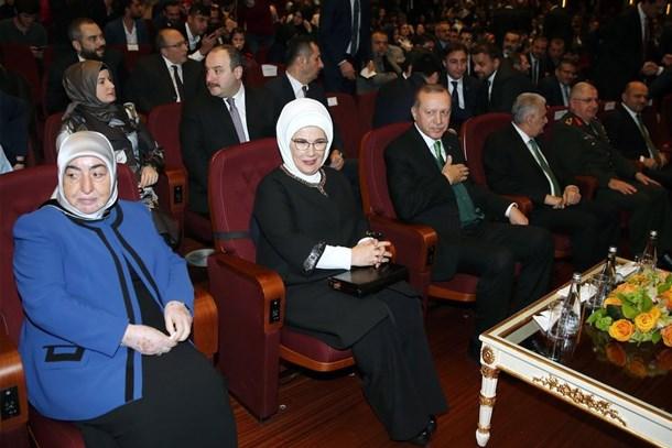 Cumhurbaşkanı Erdoğan, Kut'ül Amare dizisinin tanıtımına katıldı!