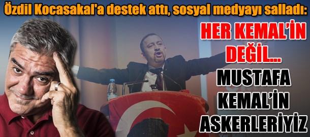 Yılmaz Özdil'in bu yazısı sosyal medyayı salladı: Her Kemal'in değil...Mustafa Kemal'in askerleriyiz!