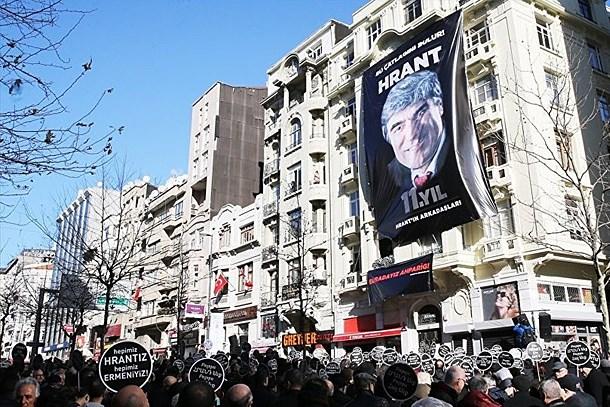 Hrant Dink ölümünün 11. yılında anıldı!