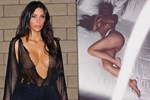 Kim Kardashian'dan yılın ilk yatak pozu!