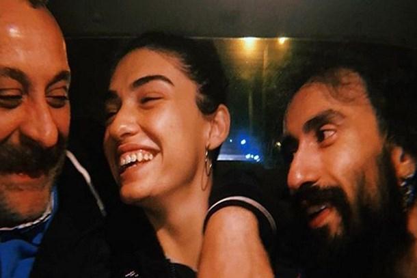 Yönetmen Onur Ünlü ile aşk yaşayan Hazar Ergüçlü'den aşk paylaşımları
