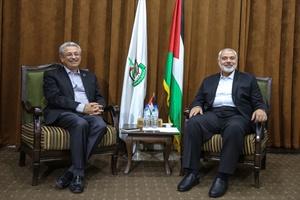 Filistinli yetkililer Gazze için bir araya geldi