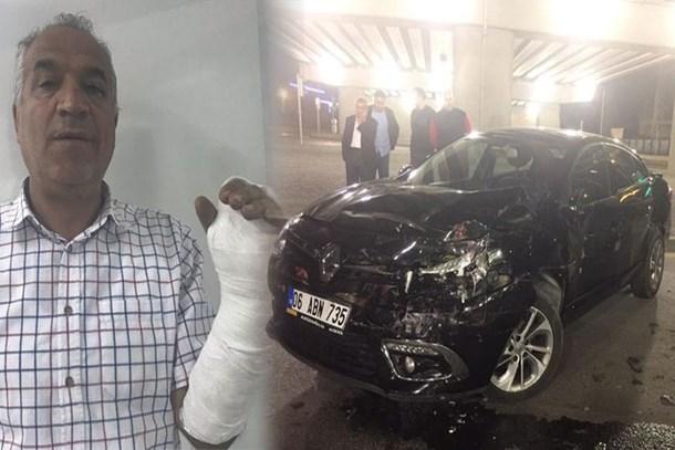 RTÜK üyesi trafikte maganda saldırısına uğradı