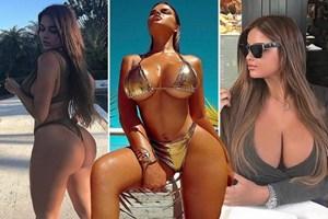 Rus Kim Kardashian'ın takipçi sayısı 9 milyona dayandı!