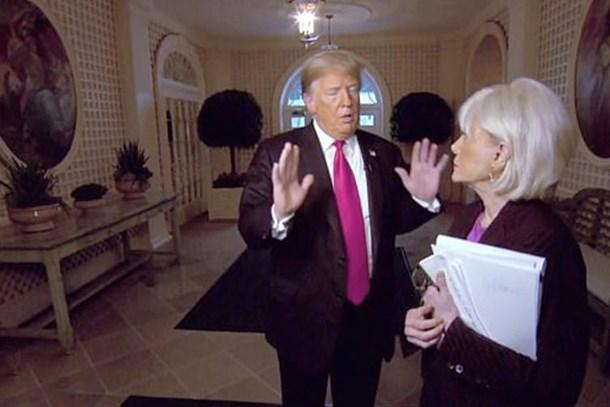 Trump kadın gazeteciyi böyle fırçaladı!