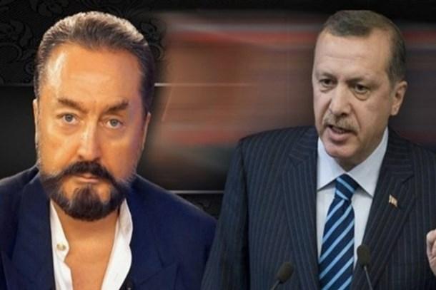 """Cumhurbaşkanı Erdoğan, Adnan Oktar'ı hedef aldı: """"Sazlı danslı program yapan soytarı"""""""