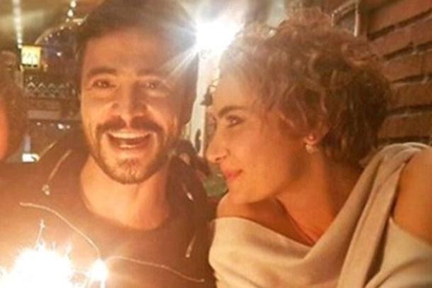 Ertuğrul Özkök çekti! Ahmet Kural ve Sıla'dan barışma pozu!