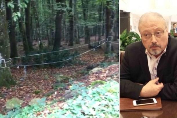 Polis görüntüleri topladı! Cemal Kaşıkçı'nın izleri Belgrad Ormanları'nda aranıyor!