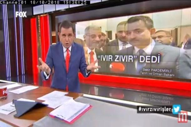 Bakan muhabirin sorusuna 'maskaralık' dedi, Fatih Portakal sert çıktı!