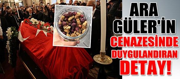 Ara Güler'in cenazesinde duygulandıran detay