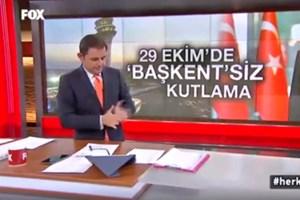 Fatih Portakal, canlı yayında sinek yakalamaya çalıştı