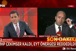 Fatih Portakal'dan canlı yayında olay tepki! Haber Müdürü'nü fena bozdu...