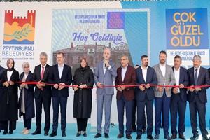 Zeytinburnu Belediyesinin tarihi binası açıldı