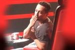 Murat Boz çekimlerde öpücük attı! Acun yakaladı...