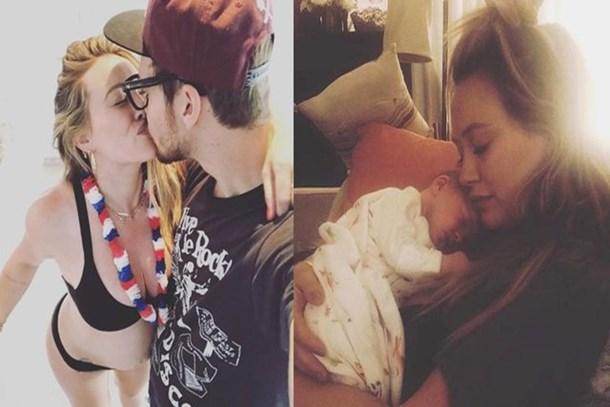 Ünlü şarkıcı bebeğinin plasentasını içti