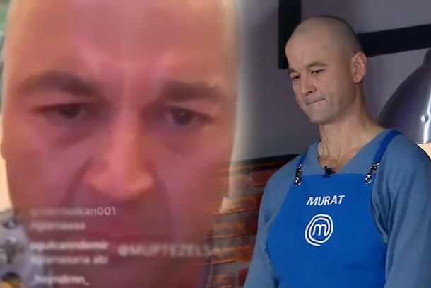 MasterChef'den diskalifiye edilen Murat, sosyal medyada çıldırdı!