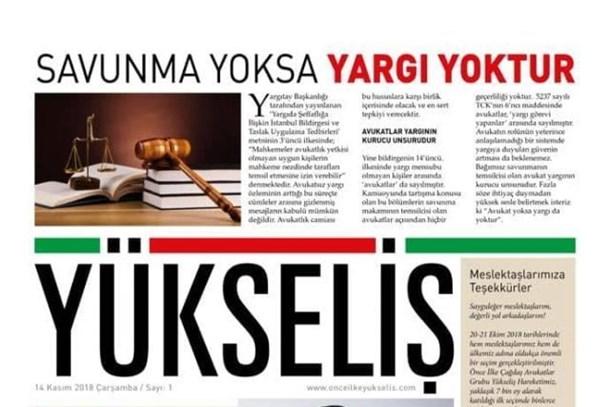 Yükseliş gazetesi dijital olarak yayın hayatına başladı!