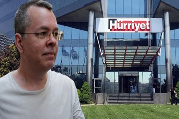 Hürriyet Gazetesi'nde sansür şoku! Brunson röportajı neden yayınlanmadı?