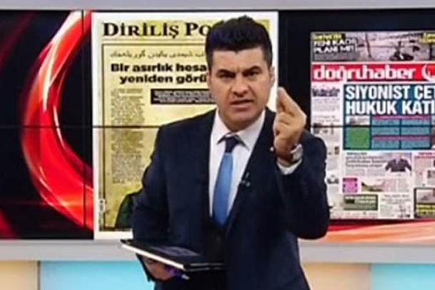 """Cumhuriyet'ten Akit Tv sunucusuna suç duyurusu! """"Katliam çağrısı cezasız kalmasın"""""""