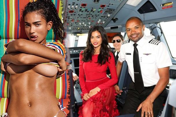 Ünlü modelden canlı yayında itiraf: Uçakta cinsel ilişkiye girdim!