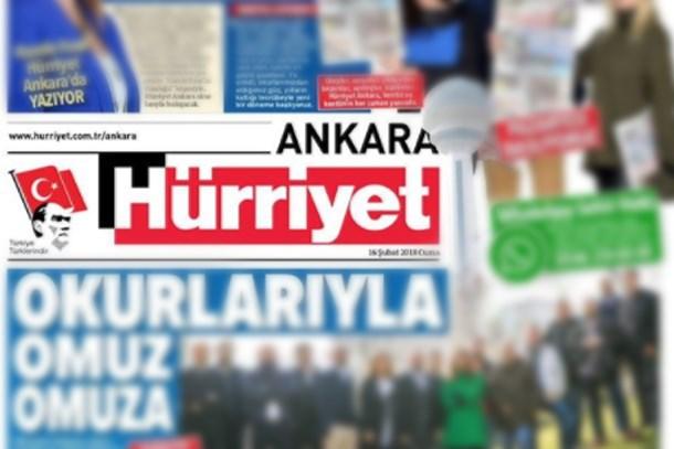 Hande Fırat paylaştı: Hürriyet Ankara yenilendi!