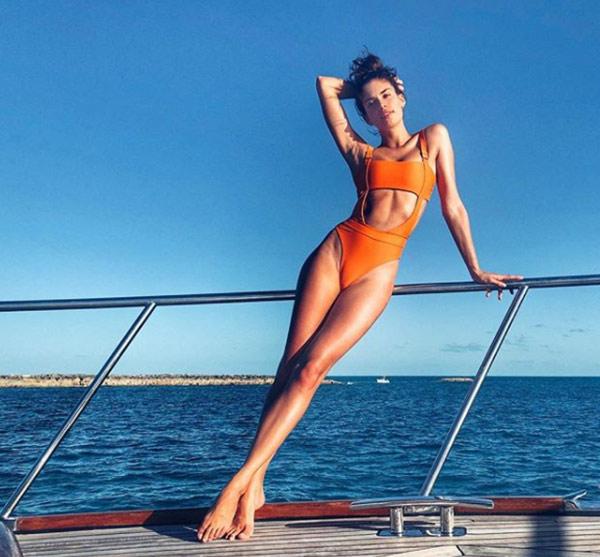 Ünlü modellerin Bahamalar kaçamağı