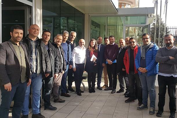 Haber kameramanları 'mesleki yeterlilik'  için Ankara'da buluştu! (Medyaradar/Özel)