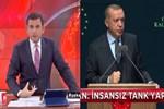 Fatih Portakal'dan Erdoğan'ı kızdıracak 'insansız tank' yorumu: Hayal pazarlıyorlar