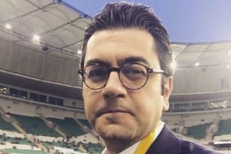 Türk Telekom Stadı'nda olaylı gece! Ünlü spikere şok saldırı!