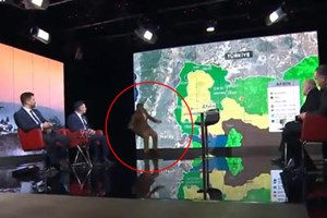 TRT Haber canlı yayınında şok anlar!